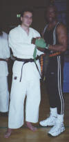 io e Billy Blanks ad uno stages
